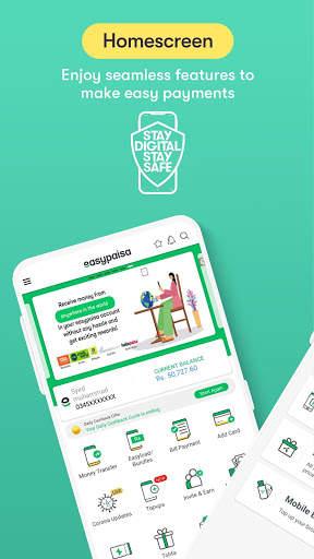 Easypaisa - Mobile Load, Send Money & Pay Bills screenshot 2