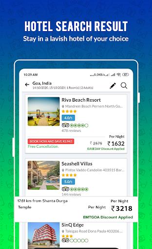 EaseMyTrip – Cheap Flights, Hotels, Bus & Holidays 5 تصوير الشاشة