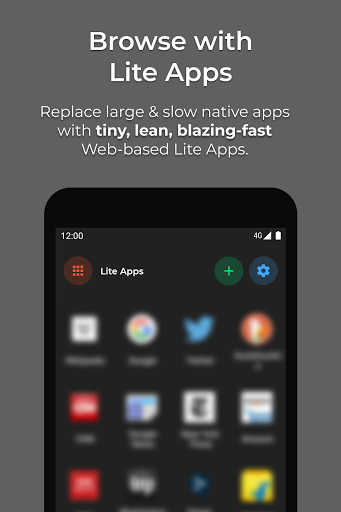 Hermit • Lite Apps Browser screenshot 1