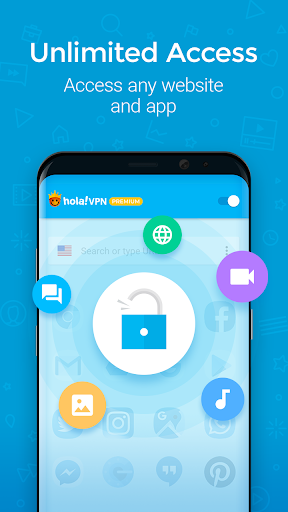 Hola VPN Proxy Plus screenshot 2