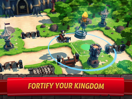 Royal Revolt 2: إمبراطورية RPG - حرب جيش تصادم 11 تصوير الشاشة