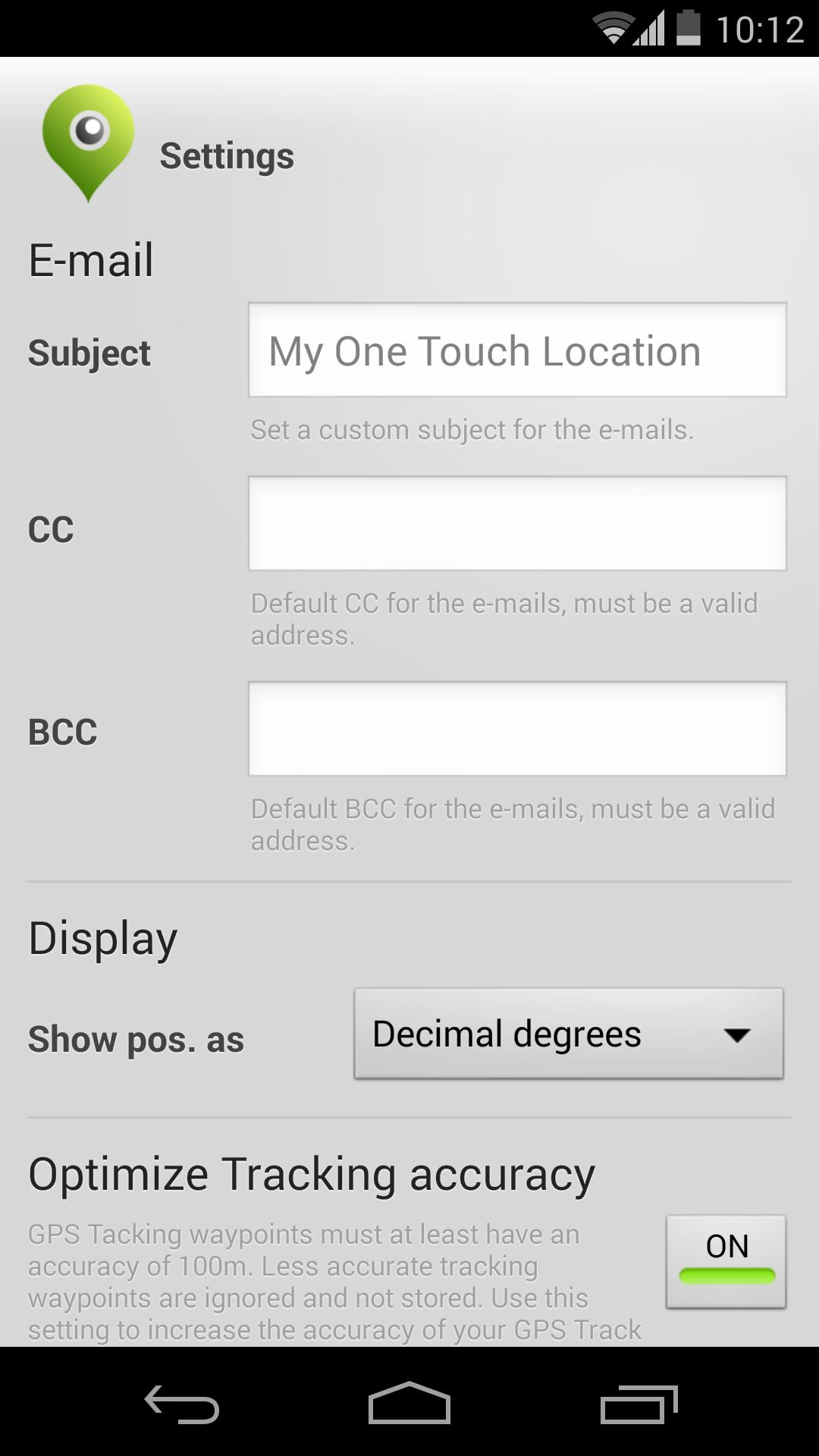 One Touch Location screenshot 7