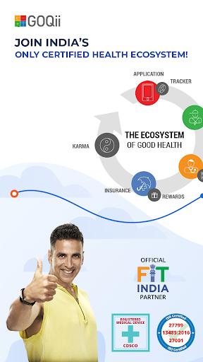 GOQii - Smart Preventive Healthcare screenshot 1
