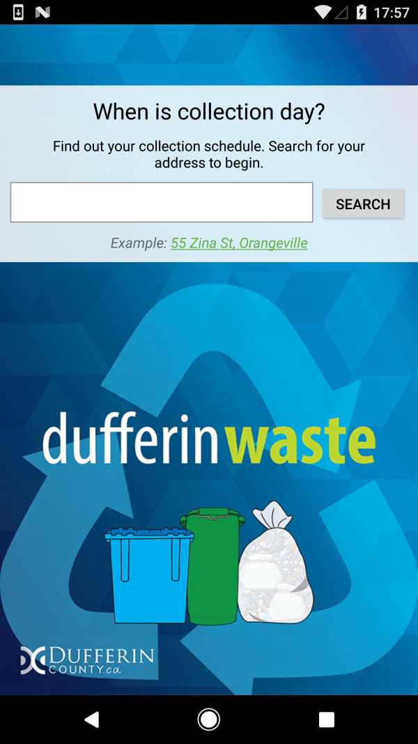 DufferinWaste screenshot 1