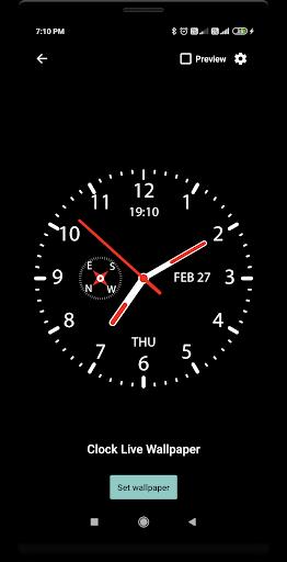 Clock Live Wallpaper screenshot 2