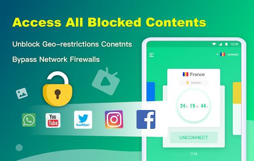 NetCapsule VPN | Free VPN Proxy, Fast VPN, Unblock screenshot 8