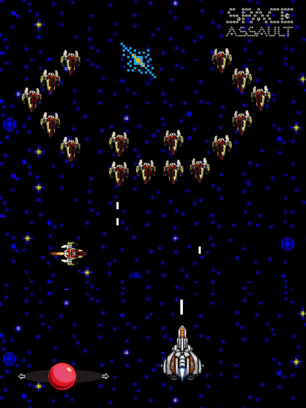 Space Assault: Space shooter 2 تصوير الشاشة