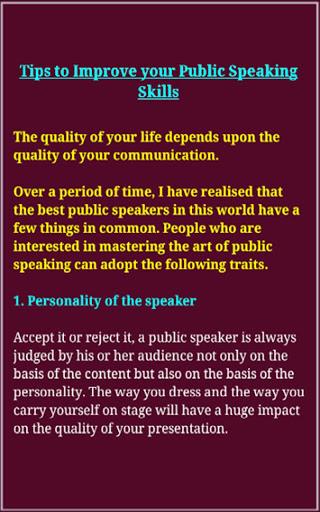 Speaking Skills 12 تصوير الشاشة