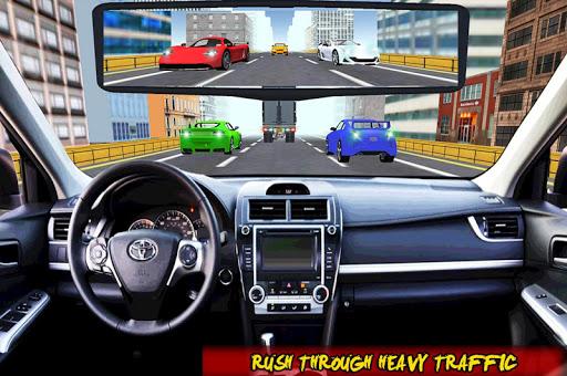 Racing In Car Traffic Drive screenshot 5