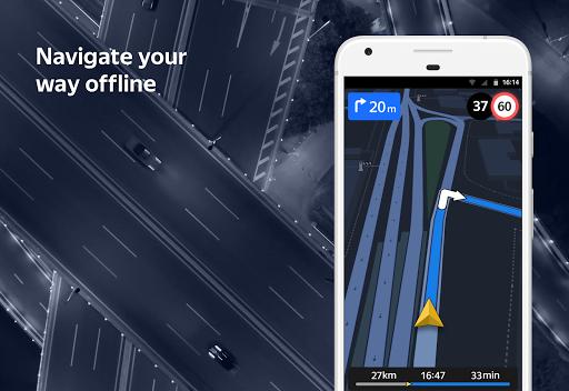 Yandex.Navigator 4 تصوير الشاشة