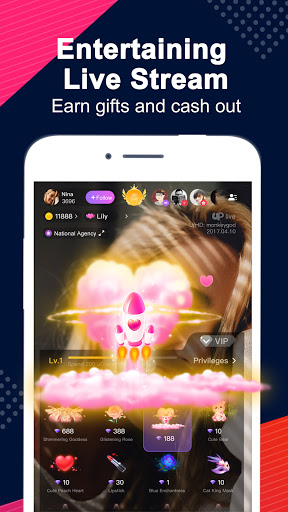 Uplive - Live Video Streaming App screenshot 3