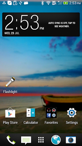 Transparent screen screenshot 1