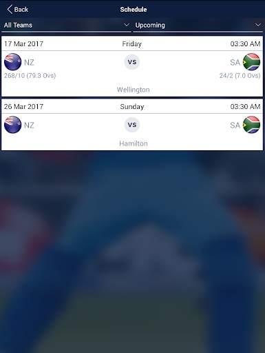 Cricket Live Score & Schedule 9 تصوير الشاشة