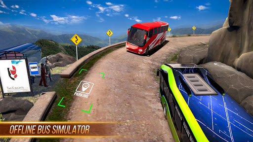 Modern Bus Simulator New Parking Games – Bus Games screenshot 1