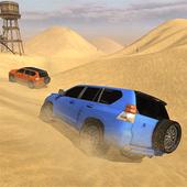 Luxury LX Prado Desert Driving icon