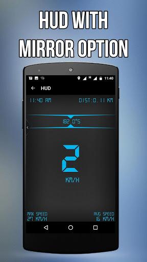 GPS Speedometer, HUD & Widget screenshot 4