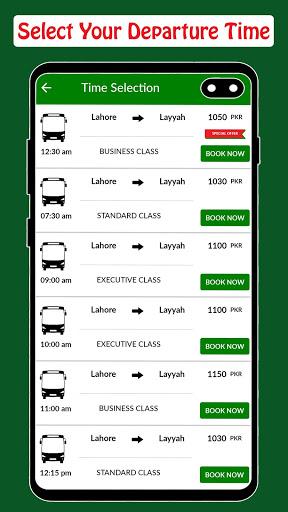 Baloch Transport - Online Ticketing screenshot 4