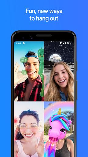 Messenger - مراسلات نصية ومكالمات فيديو بالمجان 1 تصوير الشاشة