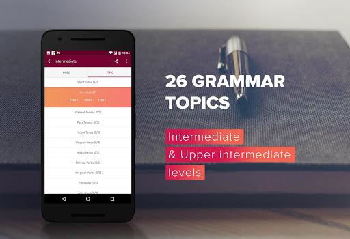 English Grammar Test 3 تصوير الشاشة