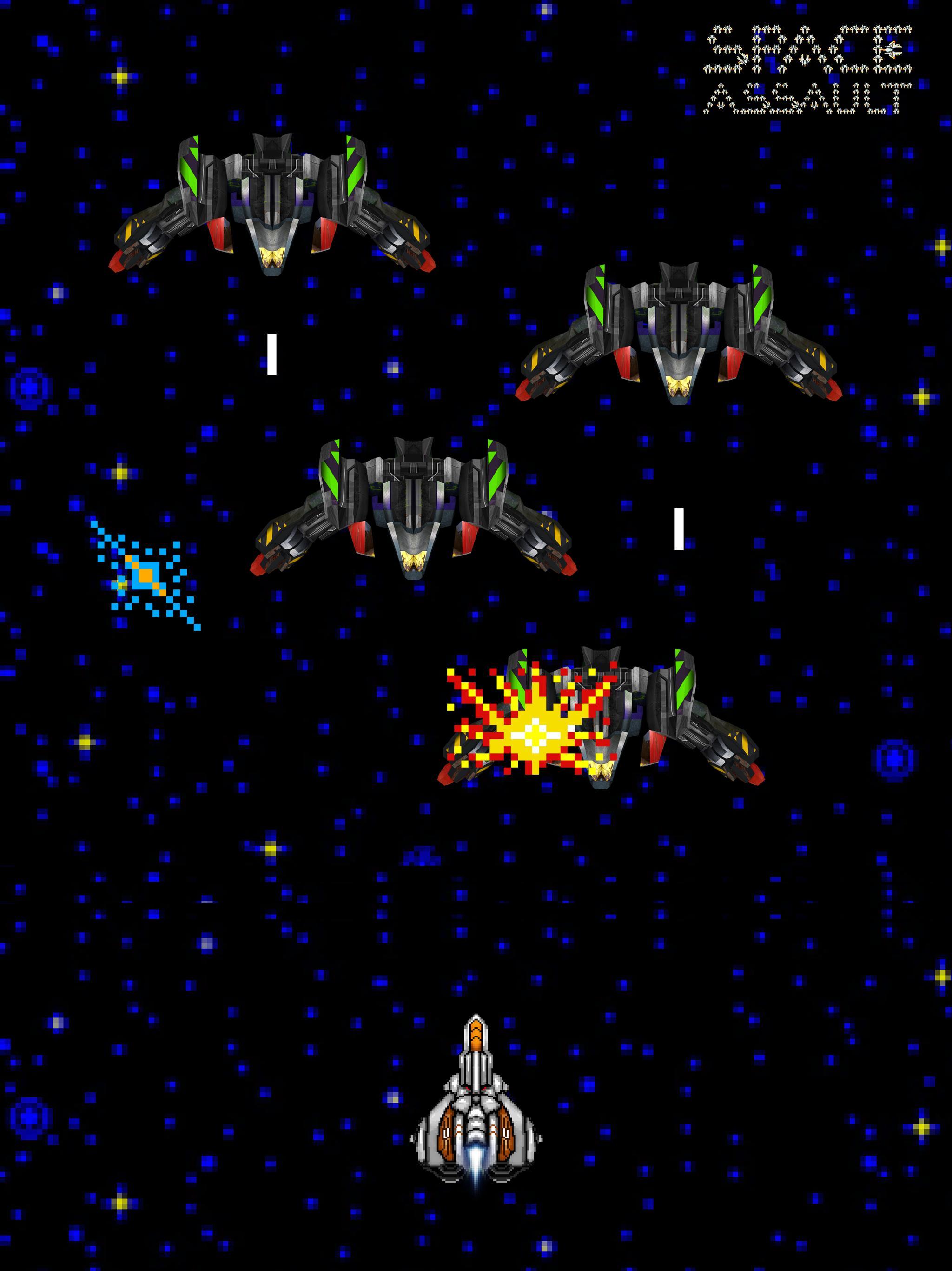Space Assault: Space shooter 7 تصوير الشاشة