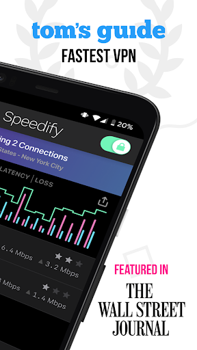 Speedify - Fast & Reliable VPN screenshot 2
