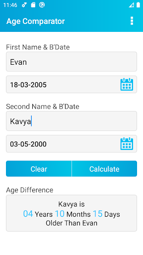 Age Calculator screenshot 15