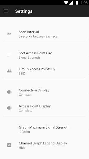 WiFi Analyzer (open-source) screenshot 16