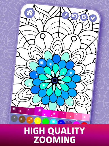 Relaxing Adult Coloring Book 2 تصوير الشاشة