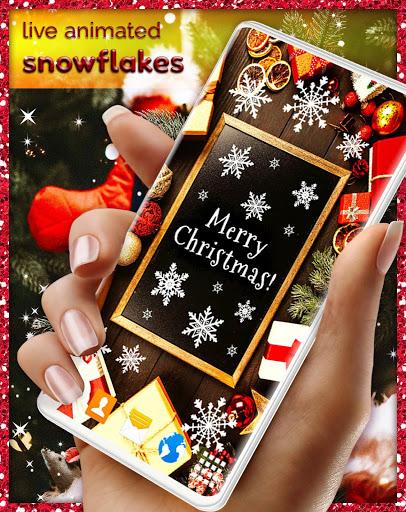 Christmas Wallpapers 🎅 Xmas Tree Live Wallpaper 8 تصوير الشاشة