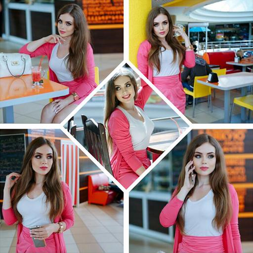 ikon Photo Collage Maker -Picmix- Beauty Selfie Camera