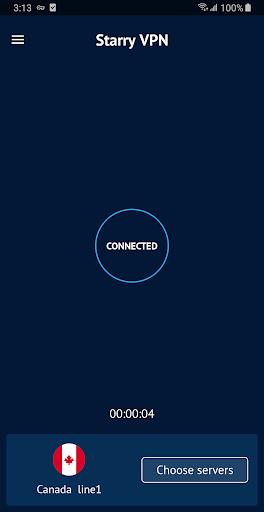 Starry VPN - Free VPN Proxy & Unlimited Secure VPN screenshot 3