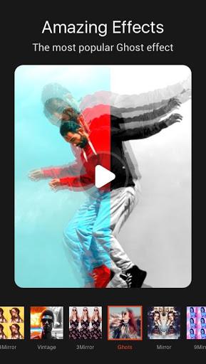 Magic Video Effect - Music Video Maker Music Story screenshot 2