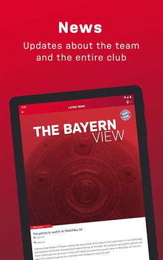 FC Bayern München - football news & live scores 10 تصوير الشاشة