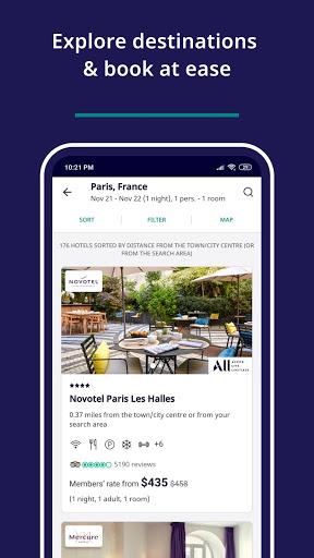 Accor All - Hotel booking screenshot 4