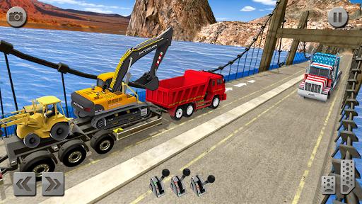 Sand Excavator Simulator 2021: Truck Driving Games screenshot 2