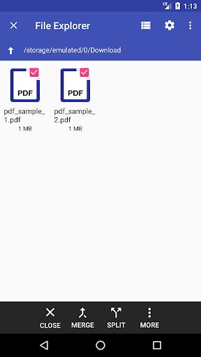 Multiple PDF Merger screenshot 3