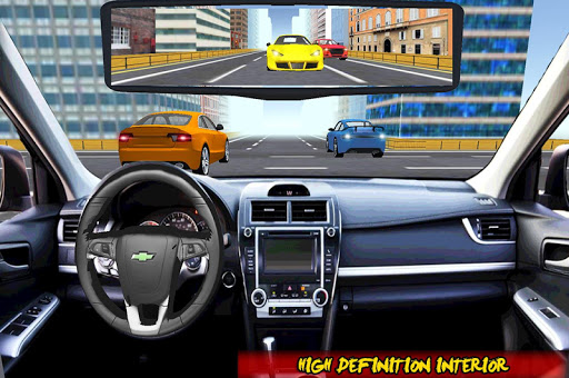 Racing In Car Traffic Drive screenshot 2