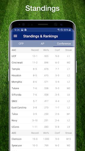 College Football Live Scores, Plays, & Schedules 8 تصوير الشاشة