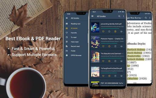 EBook Reader & PDF Reader screenshot 1