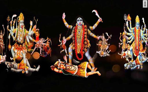 4D Maa Kali Live Wallpaper 8 تصوير الشاشة