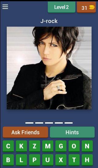 J-Rock Visual kei Quiz screenshot 1