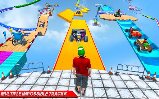 Ramp Car Stunts Racing: Mega Ramp Car Games 2020 screenshot 3