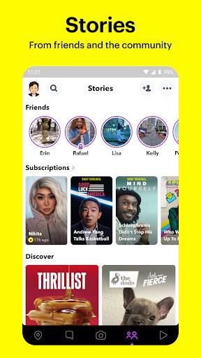 Snapchat screenshot 4