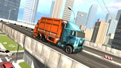 Garbage Truck Driving Simulator - Truck Games 2020 screenshot 6