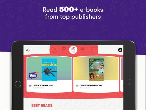 Voot Kids-Cartoons, Books, Quizzes, Puzzles & more screenshot 2