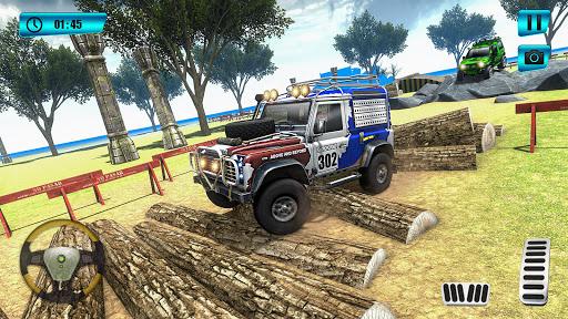 Offroad Mountain Car Parking screenshot 1