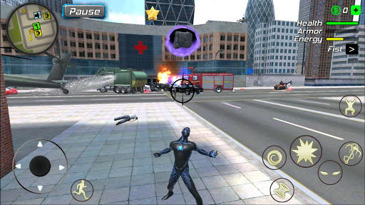 Black Hole Hero : Vice Vegas Rope Mafia screenshot 2
