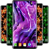 Sound Touch Magic Particle 😍 New Live Wallpapers on 9Apps