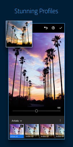 Adobe Lightroom - Photo Editor & Pro Camera 4 تصوير الشاشة