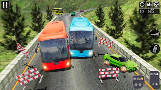 Uphill Bus Driving Simulator - Coach Bus Driver screenshot 2